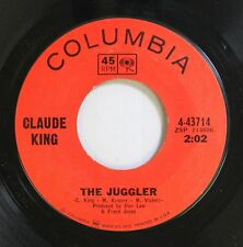 Country 45 Claude King - The Juggler / I Won'T Be Long In Your Town On Columbia