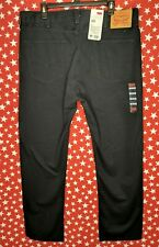 Levi Strauss & Co. Men's 505 Regular Fit Black Denim Jeans 38x31 NWT A625