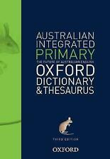 Australian Primary Integrated Dictionary and Thesaurus by Oxford (Paperback, 2016)