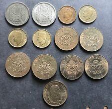Monaco 10 Francs 1946, 1950 1951 1975 1977 1978 1979 1981 1982 1989 Superbe !