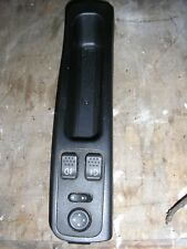 Alfa Romeo 156 centre console with fog light switches etc