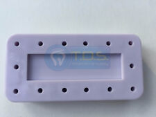 FG Bur Holder MAGNETIC Rectangular 14 Holes LILAC Dental Lab Bur Block Organizer