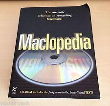 Vintage maclopedia Apple Mac para los sistemas temprano-Hayden - 1996-gc-Raro
