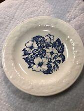 Homer Laughlin Wild Rose Saucer. Free Shipping. 6 Inch. Usa Original