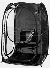 Under the Weather InstaPod XL Pop-Up WeatherPod Tent (Black) Shelter Shade (New)