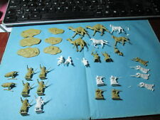 "Rare ho&oo 34 Petits Soldats Airfix ""ARABS"" S19,Vintage 1964, le set est complet"