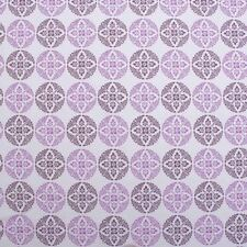 100% Cotton  MJA Fairfield Mills Snowflake Floral Print Curtain Fabric Material