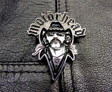 Lemmy Motorhead Kilmister Metal Pin Badge Rock Heavy Metal Biker Alchemy Rox etc