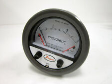 """DWYER PHOTOHELIC A3003 PRESSURE SWITCH GAGE RANGE 0- 3"""" INCHES WATER"""