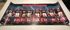 Poster: Vintage Chicago Bears 1987 Defense - Back with a Vengeance 36 x 20
