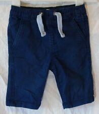 Baby Boys John Lewis Blue Colour Wash Denim Long Board Shorts Age 18-24 Months