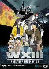 Patlabor Wxiii (2015, REGION 1 DVD New) Factory sealed