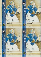 JAKE ALLEN 4 CARD LOT 11-12 ITG HEROES & PROSPECTS # 117 BLUES PEORIA. 2011-12