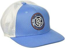 New York City FC Hat Cap Authentic adidas Mesh Flex Fit One Size Small / Medium