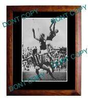 BRENT CROSSWELL 1972 CARLTON FC LARGE A3 SPECKY PRINT