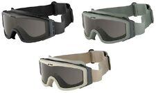 Goggles ESS Style A.C.M. black 3 lens Eyewear Airsoft Softair Helmet