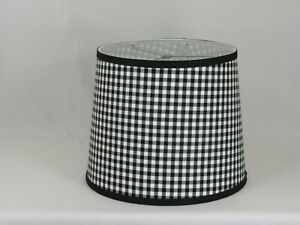 Albert Estate LTD, Black and White Check Shade, 12 Washer