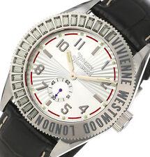NON-WORKING $320 Vivienne Westwood Men's VV007SL Saville Watch DISPLAY ITEM