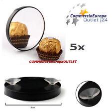 specchio 5x ingranditore con ventosa specchio di vetro per trucco mirror stock
