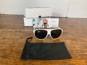 """POC Sunglasses """" DID """" new in box. white. made in italy."""