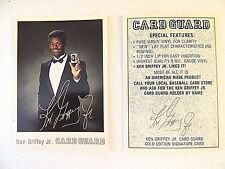 KEN GRIFFEY JR. 1991' CARD GUARD  GOLD EDITION  AUTO   MARINERS   HOF