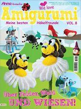 AMIGURUMI - ANNA AK 012 �œBER FELDER, WALD und WIESEN ! Vol.8 - Häkelfreunde
