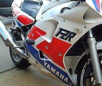 R&G RACING Crash Protector - Yamaha FZR1000 1987 -1993 (GENESIS / EXUP) *BLACK*