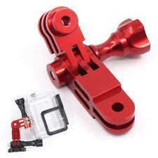 CNC Aluminum 3-Way Pivot Arm Mount Adapter for Gopro HD Hero 3 2 Camera Red