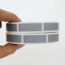 "Scratch Off Labels  30*10mm Silver Rectangle Stickers 1.18* 0.39"" Hot Sale"