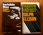Invisible Man + Shadow and Act by Ralph Ellison 1972 Vintage Books Paperbacks