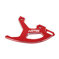 Rear Disc Brake Guard For Honda CRF CR125R CRF250R CRF450R CRF450RX CRF250X Red