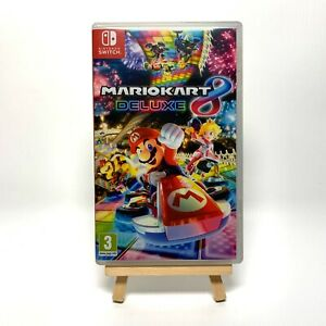Mario Kart 8 Deluxe - Reproduction Box Only NO Game - Cover Art & Case UK PAL
