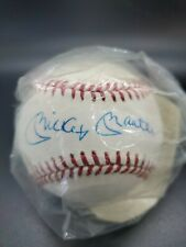 mickey mantle signed autographed baseball W/COA