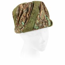 17f22c78462 Miss Dior by CHRISTIAN DIOR c.1960s Green Paisley Silk   Straw Pleated  Toque Hat