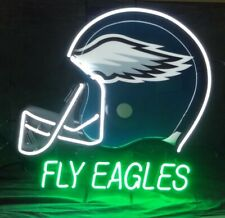 "Philadelphia Eagles Fly Eagles Neon Lamp Sign 20""x16"" Bar Light Beer Display"