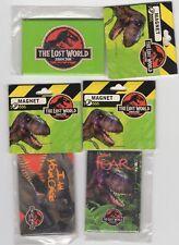 Jurassic Park The Lost World Vintage Magnet Set of 3
