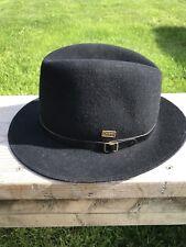 Vtg Dobbs Carlisle Wool Hat, Black , 5th Avenue