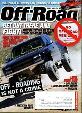 Off-Road Magazine November 2010 Will You be Allowed to Off-Road in the Future?