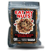 Eat My Nuts - Funny Food Gift - Spicy Gourmet Trail Mix - Weird Stocking Stuffer