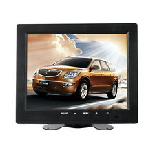 "8"" inch LCD 4:3 Color Monitor Screen Display VGA BNC AV HDMI Input for PC CCTV"
