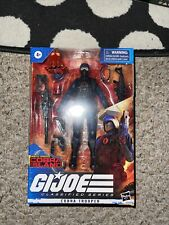 GI JOE CLASSIFIED SERIES COBRA ISLAND COBRA TROOPER  W/ Custom Cobra Head Sculpt