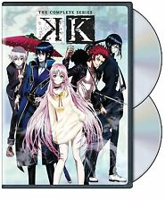 K - The Complete Series Complete Anime Box / DVD Set NEW!