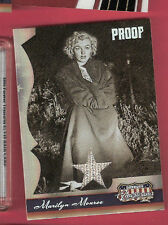MARILYN MONROE #d WORN RELIC SWATCH MEMORAILIA PROOF CARD #d 20/50 08 AMERICANA