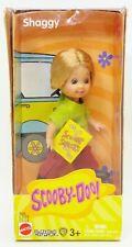 "Scooby-Doo! Shaggy 4.5"" Kelly Doll Figure Cartoon Network Mattel C3124 NRFB"