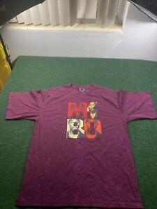 Tupac Shakur Makaveli Branded Rap Tee Shirt Size 2XL Fits XL 2Pac VINTAGE