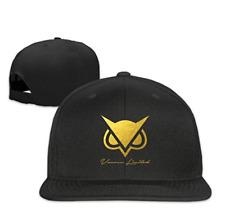 Unisex Vanoss Gold Owl Snapback Adjustable Flat Baseball Hat/Cap