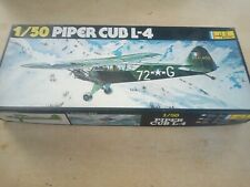 Vintage new HELLER PIPER CUB L-4 RECON PLANE 1/50 SCALE MODEL KIT