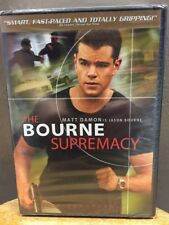 The Bourne Supremacy (DVD, 2004, Widescreen) NEW!! Mat Damon