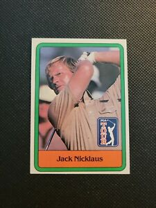 Jack Nicklaus 1981 Donruss Golf RC  #13