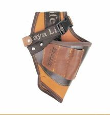 KAYA KL-801 TOOL Poly Top Grain Cowhide Buckle Holder Drill Leather Craft_VG